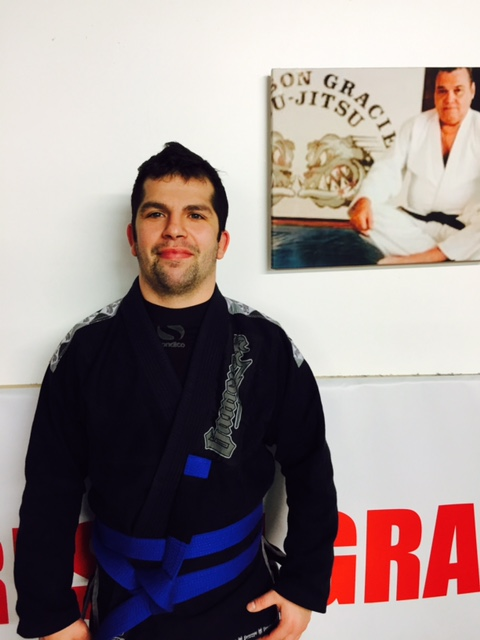 Danny Stokes - Carlson Gracie BJJ Blue Belt London